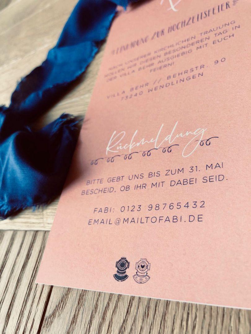 Einladung Detail Party 2